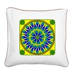 Window Flower 02 Square Canvas Pillow
