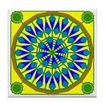 Window Flower 02 Tile Coaster