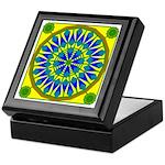 Window Flower 02 Keepsake Box