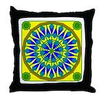 Window Flower 02 Throw Pillow