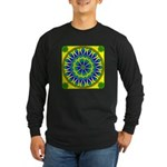 Window Flower 02 Long Sleeve Dark T-Shirt