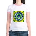 Window Flower 02 Jr. Ringer T-Shirt