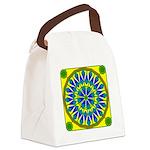 Window Flower 02 Canvas Lunch Bag