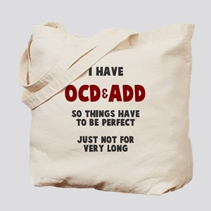 OCD & ADD Tote Bag