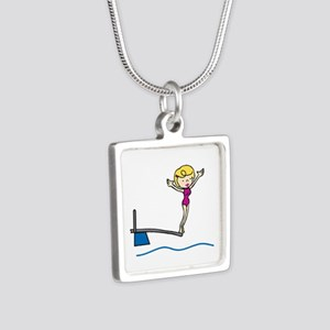 Springboard Woman Necklaces