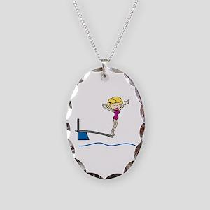 Springboard Woman Necklace