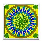 Window Flower 01 Tile Coaster