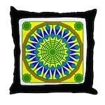 Window Flower 01 Throw Pillow