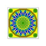 Window Flower 01 Square Sticker 3