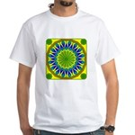 Window Flower 01 White T-Shirt