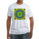 Window Flower 01 Fitted T-Shirt