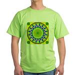 Window Flower 01 Green T-Shirt