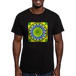 Window Flower 01 Men's Fitted T-Shirt (dark)