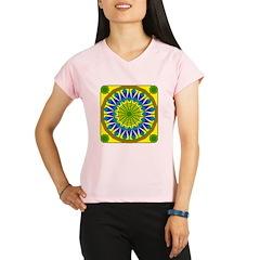 Window Flower 01 Performance Dry T-Shirt