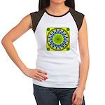 Window Flower 01 Women's Cap Sleeve T-Shirt