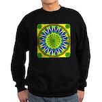 Window Flower 01 Sweatshirt (dark)