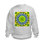 Window Flower 01 Kids Sweatshirt