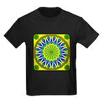 Window Flower 01 Kids Dark T-Shirt