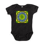 Window Flower 01 Baby Bodysuit