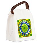Window Flower 01 Canvas Lunch Bag