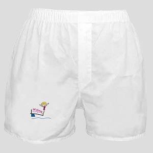 iDive Woman Boxer Shorts