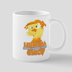 Leukemia Messed With The Wrong Chick Mug