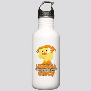Leukemia Messed With T Stainless Water Bottle 1.0L