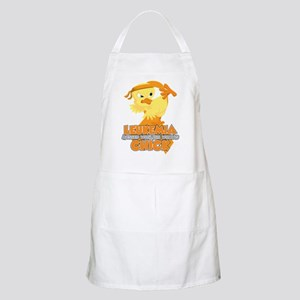 Leukemia Messed With The Wrong Chick Apron