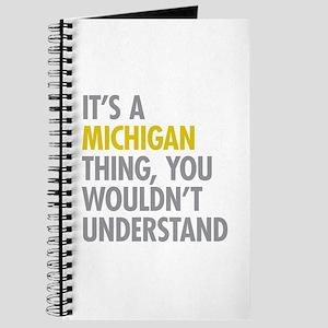 Its A Michigan Thing Journal
