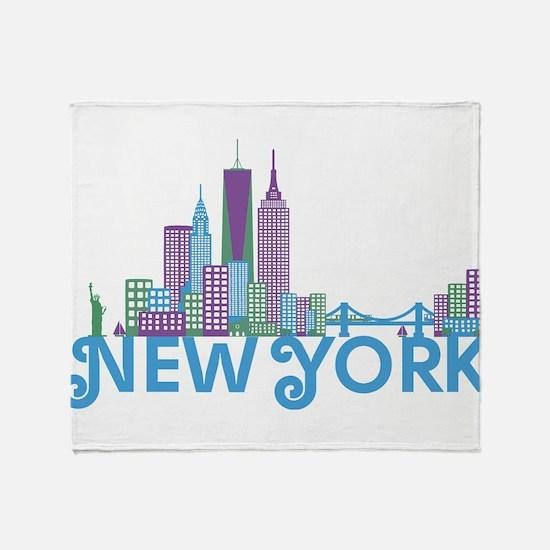 Cute Midtown Throw Blanket