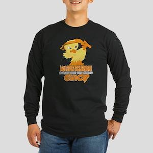 Multiple Sclerosis Messed Long Sleeve Dark T-Shirt