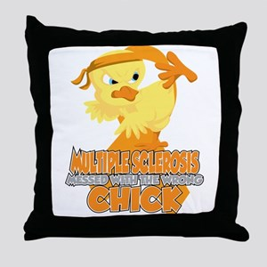 Multiple Sclerosis Messed With The Wr Throw Pillow