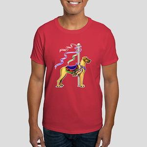 Great Dane Fawn UC Carousel Dark T-Shirt