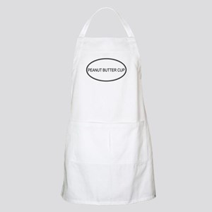 PEANUT BUTTER CUP (oval) BBQ Apron