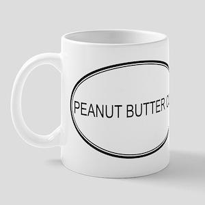 PEANUT BUTTER CUP (oval) Mug