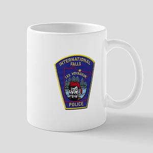 International Falls Police Mugs