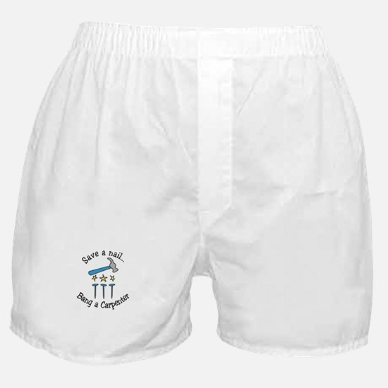 Save A Nail Boxer Shorts