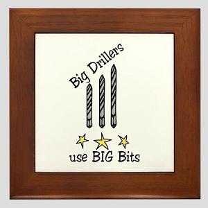 Big Drillers Framed Tile