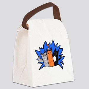 Everyone's Favourite Trio Canvas Lunch Bag