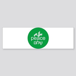 peace-3lang Bumper Sticker