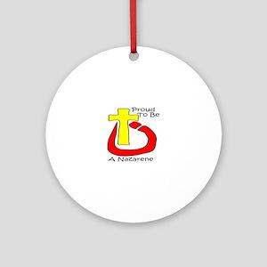 Proud Nazarene Round Ornament