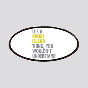 Its A Rhode Island Thing Patches