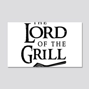 Lord of the grill Wall Decal
