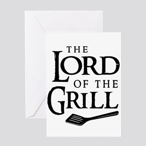 Lord of the grill Greeting Cards