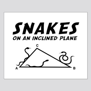Snakes inclined plane Posters