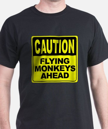 Flying Monkeys Ahead T-Shirt