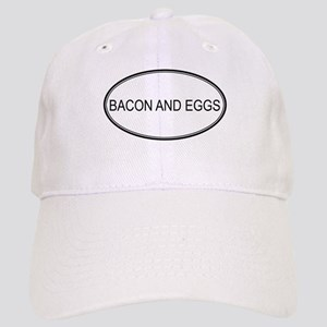 BACON AND EGGS (oval) Cap
