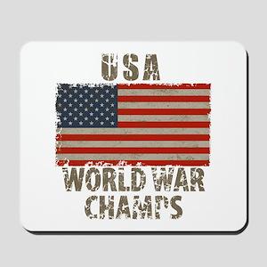 USA, World War Champs Mousepad