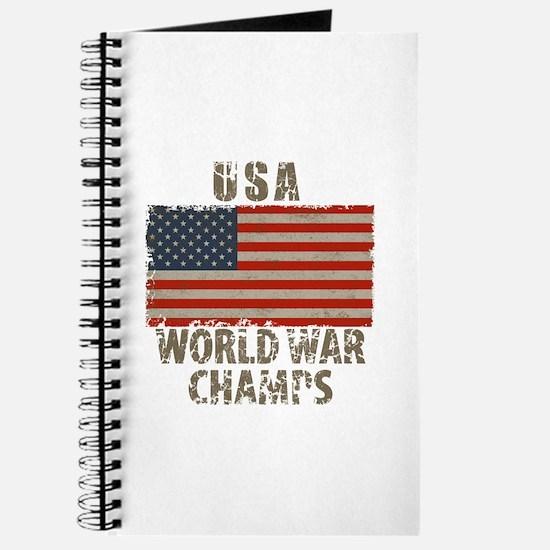 USA, World War Champs Journal