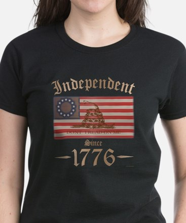 Independent Women's Dark T-Shirt